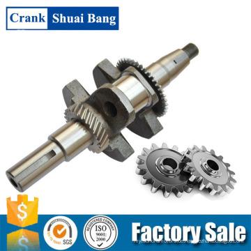 Top-Qualität 168F Stahl geschmiedete Kurbelwelle, Motor Kurbelwelle