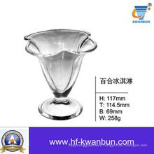 Clear Ice Cream Glass Bowl Tableware Kb-Hn0123