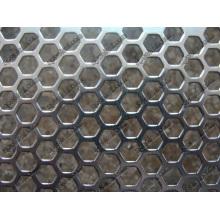 Acier, acier inoxydable, maillage perforé en aluminium