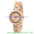 2016 Woodeb de alta calidad de relojes para mujer, reloj de cuarzo (Ja-15174)