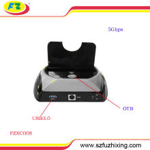 USB3.0 a 2.5 / 3.5 SATA OTB estación de acoplamiento HDD