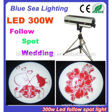 2015 hotsale 300w mini led follow spot light