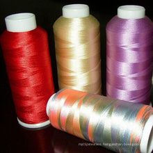 100% Rayon Viscose Embroidery Thread 150d/2