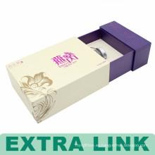 Caja de empaquetado de la crema de la belleza de la caja de demostración decorativa de la cartulina