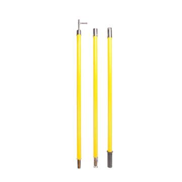 3 M - 12 M Telescopic Fiberglass Electrical Hot Stick