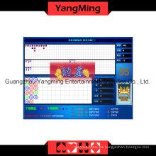 Tabla del casino de la exhibición del resultado del Baccarat (YM-EC02)