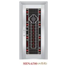 Porta de aço inoxidável para a luz do sol exterior (SBN-6700)