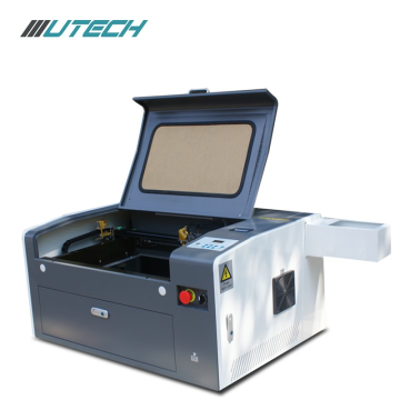 Mini macchina per incisione laser CO2 con plotter in plastica