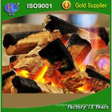 Venda direta da fábrica de serragem briquetes de carvão churrasco para churrasco