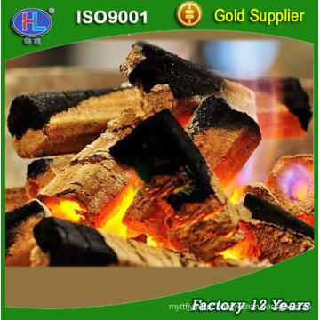 carvão vegetal feito à máquina alto da baixa ASH carvão para o assado do BBQ