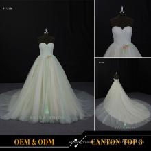 Mulheres vestidos festa casamento longo vestido de noiva bola grande vestido simples nupcial