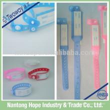 Bracelets d'identification des patients hospitalisés