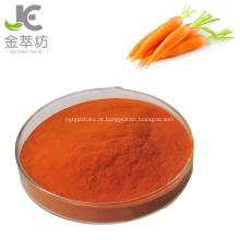 Extrato de cenoura beta-caroteno 100% natural puro beta-caroteno