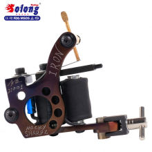 Solong M826 Tattoo Supply 10 Wraps Pure Copper Handmade Iron Coil Tattoo Machine Gun