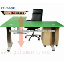 L shape Kissonerga actuator lift table&Kiti auto lift tables&Kophinou lift top end table