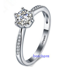 Hot Sell Jewelry- Cubic Zirconia Brass Rings (R0827)