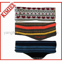 Fashion Acrylic Jacquard Earband Ear Warmer
