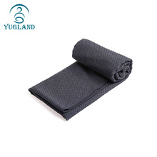 yugland Wholesale Machine Washable Anti Slip Organic eco fitness hand yoga mat towel microfiber