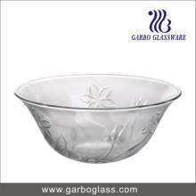 Large Clear Round Glass Soup Bowl