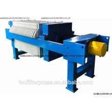 Prensa de filtro de las aguas residuales de galvanoplastia de Leo Press Press, prensa de filtro de lodo de galvanoplastia