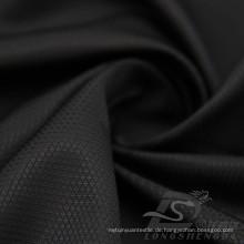 Wasser & Wind-resistent Outdoor Sportswear Daunenjacke gewebt Diamant punktierte Jacquard 100% Polyester Filament Stoff (J018)
