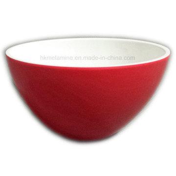 4inch dois tons rodada tigela de melamina sobremesa (bw7090)
