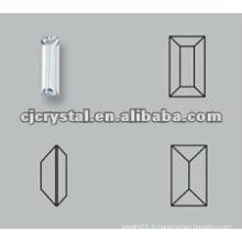 Pierre de cristal pour vêtements