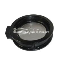 Válvula de retenção de balanço tipo Wafer com o disco accionado por mola