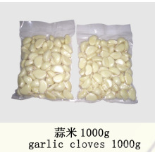 2015 New Crop White Peeled Garlic
