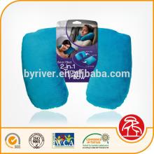 4-en-1 cuello almohada transformador viaje cuello almohada el sistema del recorrido