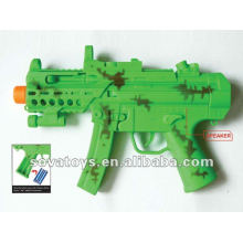 Brinquedo, luz, som, elétrico, arma
