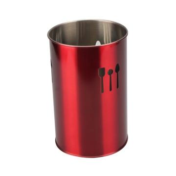 Food Grade Stainless Steel Cutlery Bucket