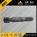 Komatsu excavator spare parts komatsu PC200-6 final drive shaft 20Y-27-22110