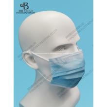 Drei Schichten Einwegmasken für den zivilen Gebrauch