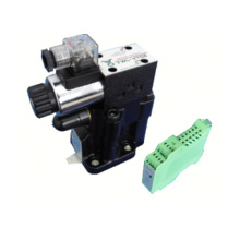 Válvula de alívio hidráulica atos para máquina de dobra de alumínio