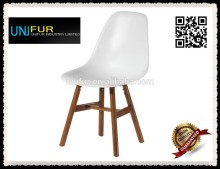 New arrival mdoern comfortable side abs plastic chair for dining rooms/restaurant