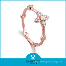 Fashion Sterling Silver Ring with Wholesale Price (R-0641)