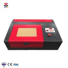 3020 300*200MM 40W M2 mini desktop co2 laser engraving machine