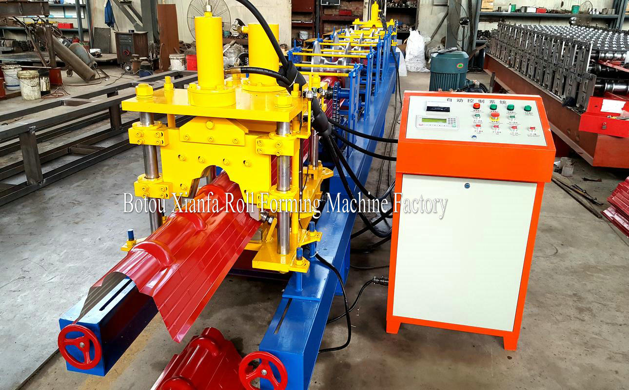 crown tile making machine