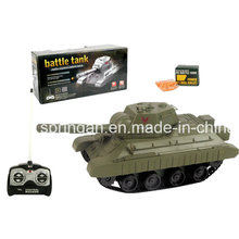 R/C Battle Tank Military Plastic Toy