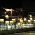 Lampadaire extérieur décoratif à fibre optique