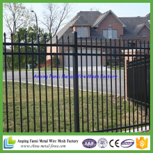 Top Quality Cheap Price Fusion Ornamental Welded Beauty Steel Fence