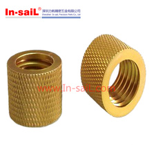 Brass Threaded Insert Round Nuts