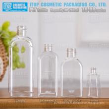 TB-DB série flacon 30ml 120ml et 240ml classique et beau monocouche meilleure qualité couleur injection rectangle shampoing pour animaux de compagnie