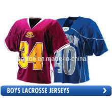 Promocional personalizado Sublimated Lacrosse Jersey