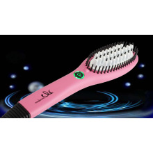 Hair Ionic Brush Straightener
