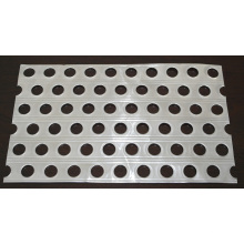 Metal estampado disipador de calor grandes partes