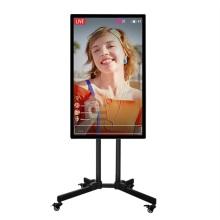 Écran d'affichage de diffusion en direct mobile tactile LCD