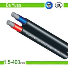 Cable solar 4/6/10 mm2 con cubierta de PVC Alambre de cobre