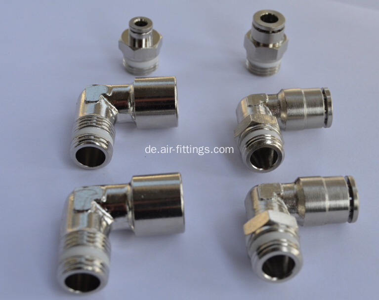 Air-Fluid PTFE Washer Push in Type Fittings